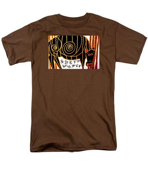 Boar Totem Men's T-Shirt  (Regular Fit) by Clarity Artists
