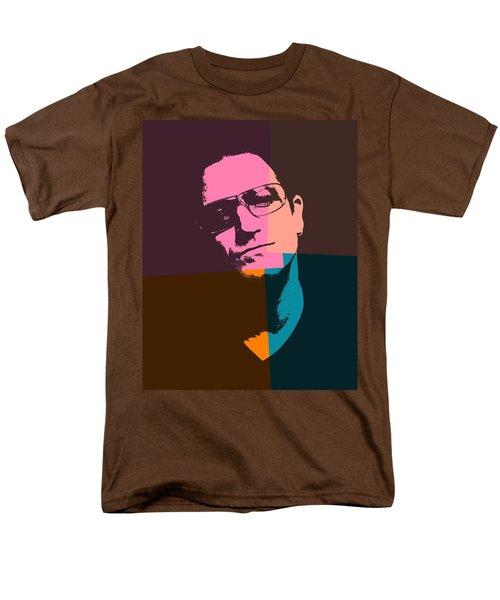 Bono Pop Art Men's T-Shirt  (Regular Fit) by Dan Sproul