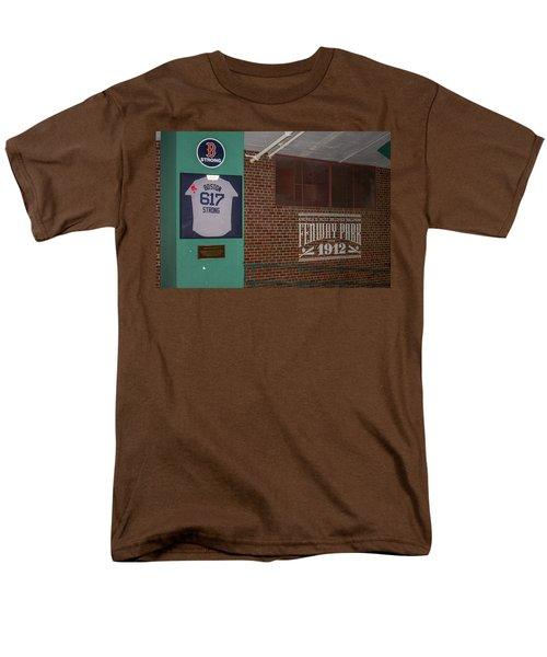 Boston Strong Men's T-Shirt  (Regular Fit) by Tom Gort