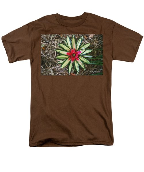 Botanical Flower Men's T-Shirt  (Regular Fit) by Tom Janca