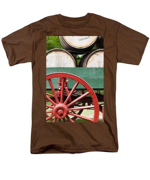 Bourbon Wagon Men's T-Shirt  (Regular Fit) by Alexey Stiop