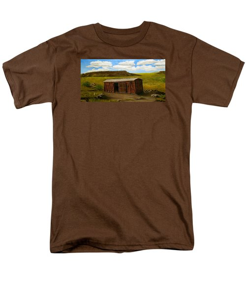 Boxcar On The Plains Men's T-Shirt  (Regular Fit) by Sheri Keith