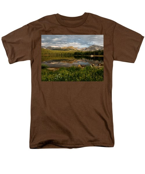 Men's T-Shirt  (Regular Fit) featuring the photograph Brainard Lake by Ronda Kimbrow