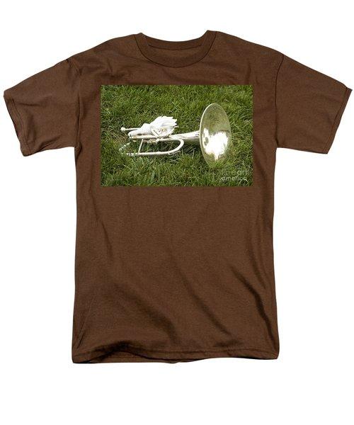 Men's T-Shirt  (Regular Fit) featuring the photograph Brass In Grass by Carol Lynn Coronios