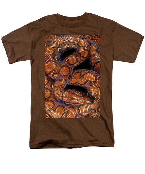 Brazilian Rainbow Boa Men's T-Shirt  (Regular Fit) by Art Wolfe