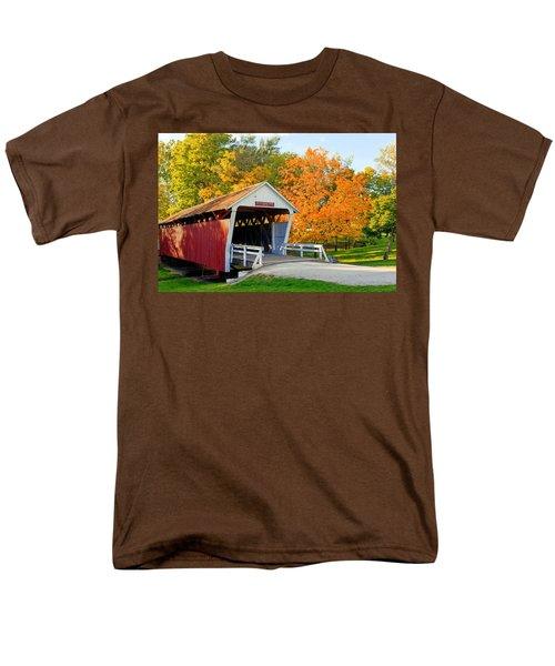 Bridge Of Madison County Men's T-Shirt  (Regular Fit) by Sennie Pierson
