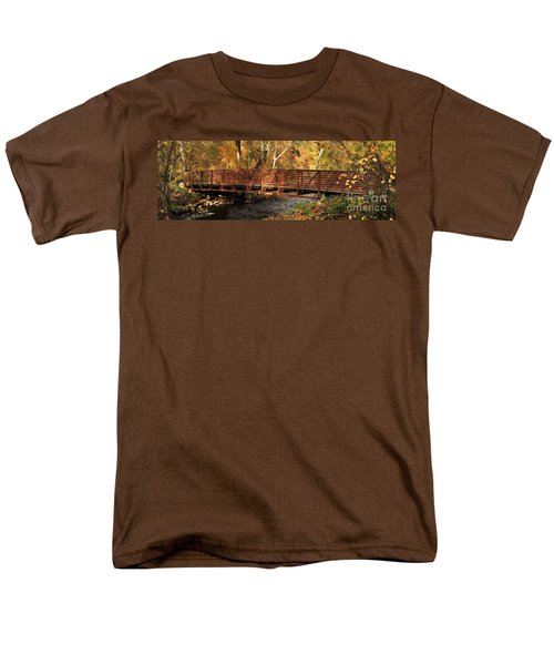 Bridge On Big Chico Creek Men's T-Shirt  (Regular Fit)