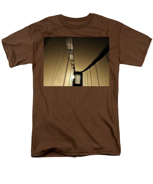 Bridge Work Men's T-Shirt  (Regular Fit) by Robert Geary