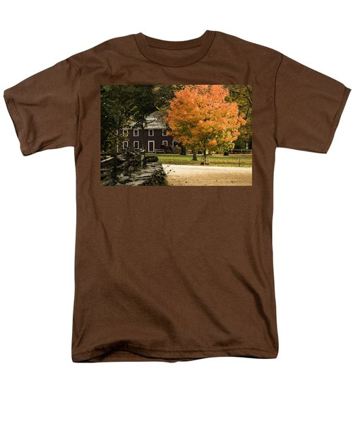 Bright Orange Autumn Men's T-Shirt  (Regular Fit) by Jeff Folger