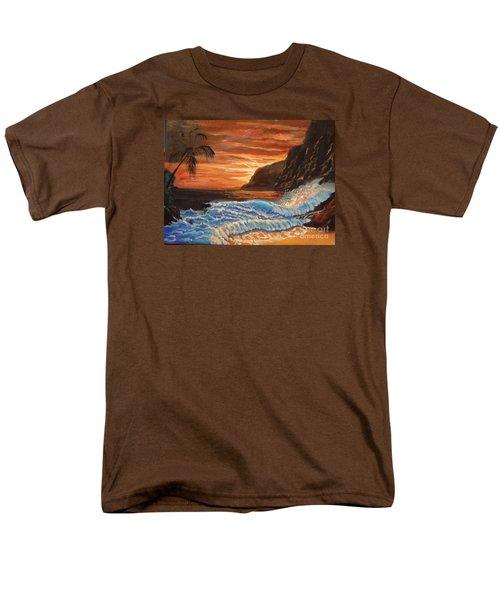 Brilliant Hawaiian Sunset 1 Men's T-Shirt  (Regular Fit)