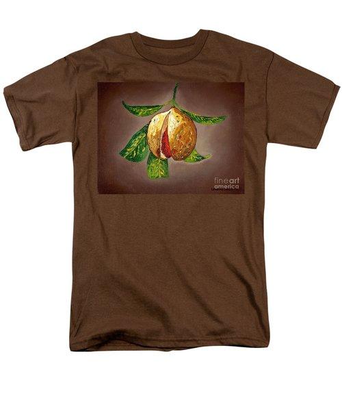 Brown Glow Nutmeg Men's T-Shirt  (Regular Fit) by Laura Forde