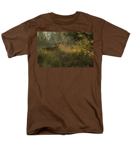 Bucks In Velvet Men's T-Shirt  (Regular Fit) by Loni Collins