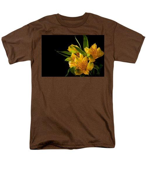 Men's T-Shirt  (Regular Fit) featuring the photograph Budding Flowers by Sennie Pierson