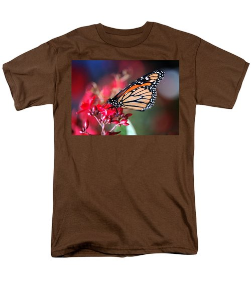 Men's T-Shirt  (Regular Fit) featuring the photograph Butterfly 2 by Leticia Latocki