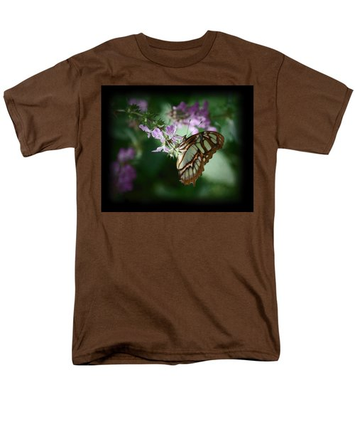 Men's T-Shirt  (Regular Fit) featuring the photograph Butterfly 7 by Leticia Latocki