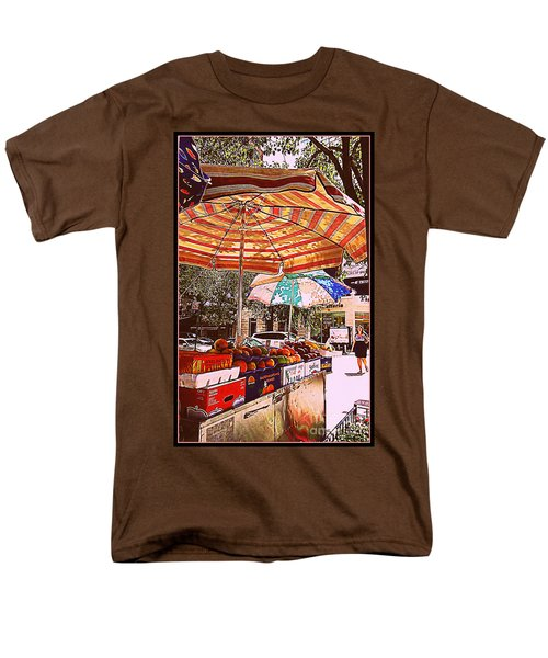 Men's T-Shirt  (Regular Fit) featuring the photograph California Oranges by Miriam Danar
