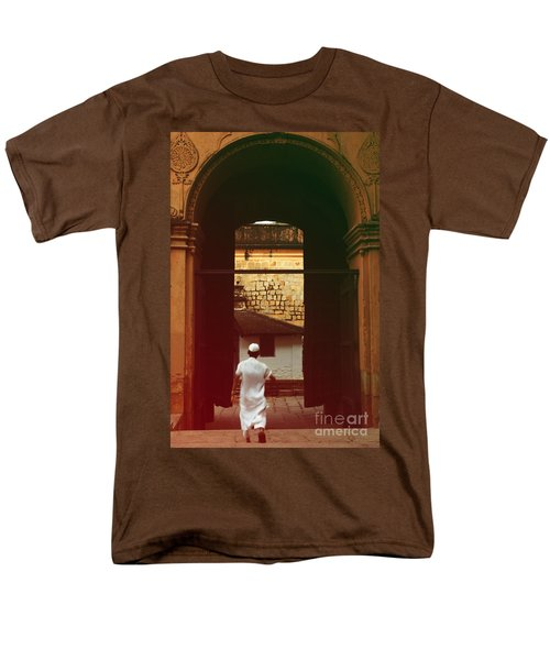 Men's T-Shirt  (Regular Fit) featuring the photograph Call To Prayer by Mini Arora