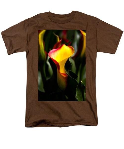 Calla Lily Men's T-Shirt  (Regular Fit) by Menachem Ganon