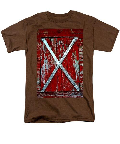 Camp Westminster Barn Men's T-Shirt  (Regular Fit) by Tara Potts
