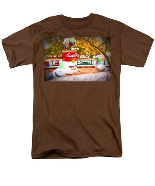 Campbell's Soup Men's T-Shirt  (Regular Fit) by Bill Howard