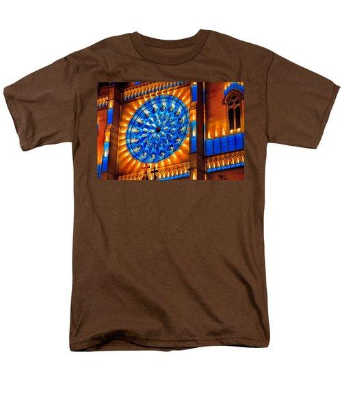 Candle Lights On Walls Men's T-Shirt  (Regular Fit) by Miroslava Jurcik