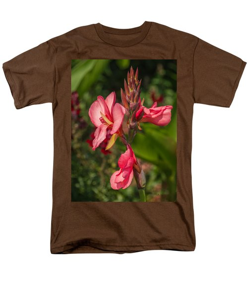 Canna Lily Men's T-Shirt  (Regular Fit) by Jane Luxton