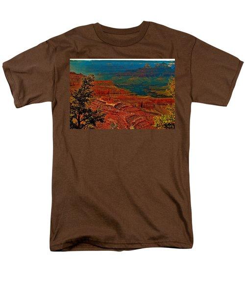 Canyon Colours Show Through Men's T-Shirt  (Regular Fit)