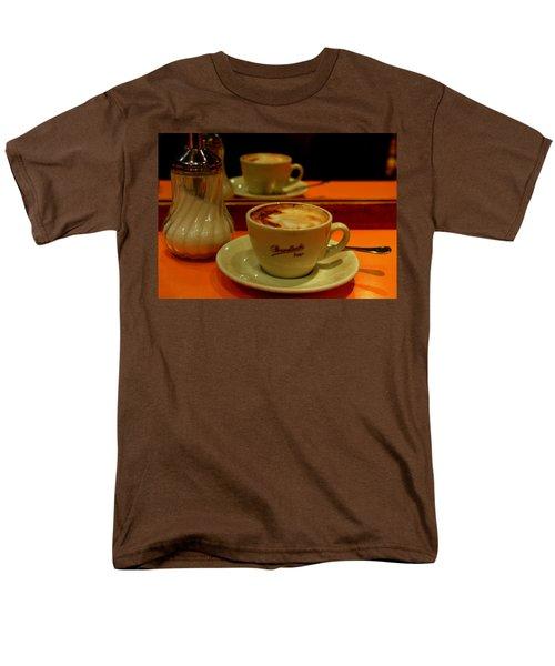 Cappuccino Men's T-Shirt  (Regular Fit) by Caroline Stella