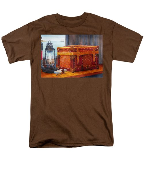 Men's T-Shirt  (Regular Fit) featuring the painting Capt. Murray's Chest by Roger Rockefeller