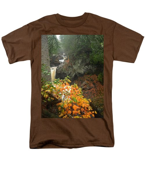 Men's T-Shirt  (Regular Fit) featuring the photograph Cascading Steps by James Peterson