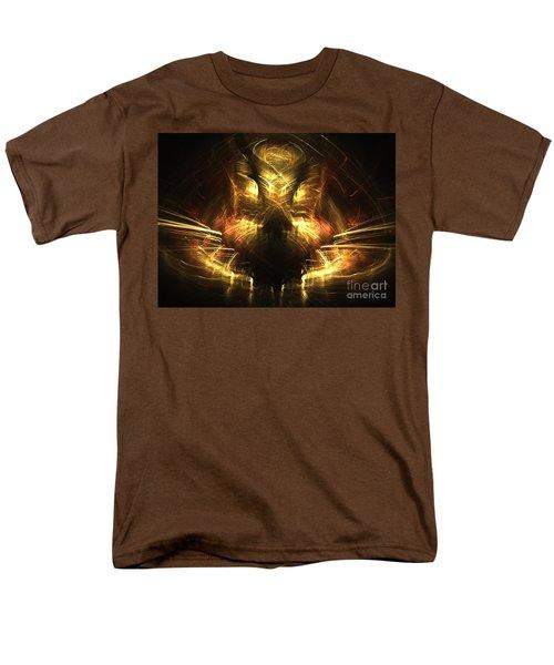 Cat Men's T-Shirt  (Regular Fit) by Kim Sy Ok