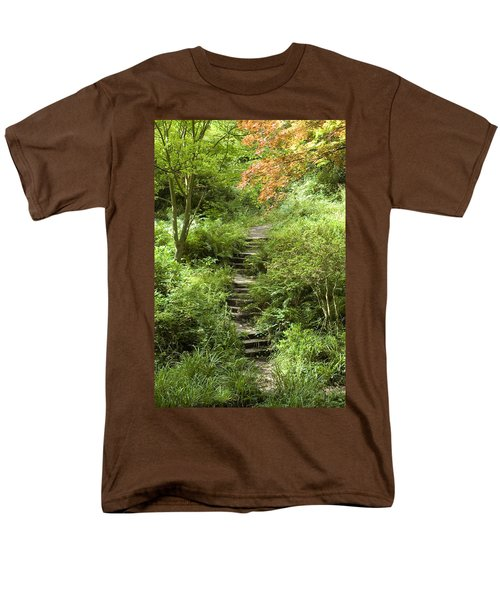 Men's T-Shirt  (Regular Fit) featuring the photograph Cefn Onn by Jeremy Voisey