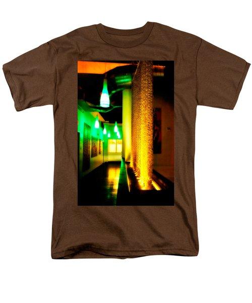Chain Lighting Men's T-Shirt  (Regular Fit) by Melinda Ledsome