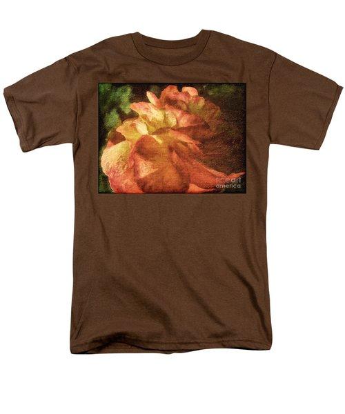 Men's T-Shirt  (Regular Fit) featuring the digital art Chanson D'amour by Lianne Schneider