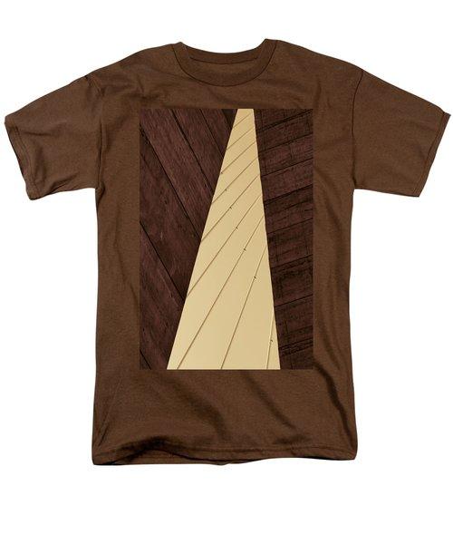 Charleston Bridge Abstract Men's T-Shirt  (Regular Fit) by Kathy Clark