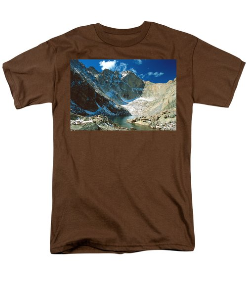 Chasm Lake Men's T-Shirt  (Regular Fit) by Eric Glaser