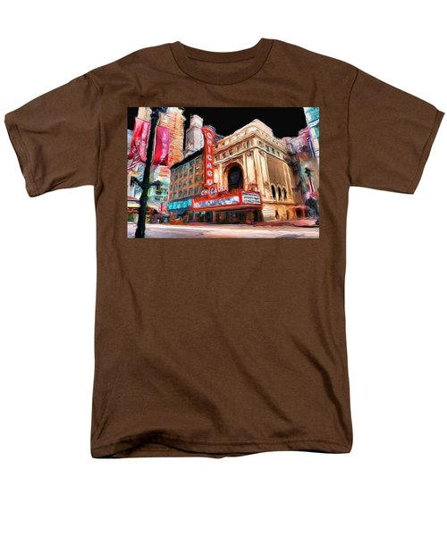 Chicago Theater - 23 Men's T-Shirt  (Regular Fit) by Ely Arsha