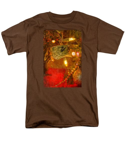 Christmas Cover  Men's T-Shirt  (Regular Fit) by Susan  McMenamin