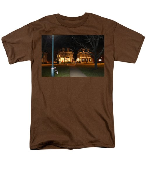 Christmas In Town Men's T-Shirt  (Regular Fit) by Catie Canetti