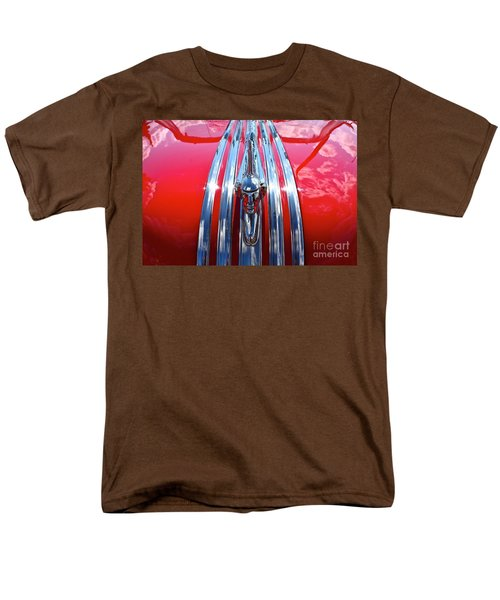 Men's T-Shirt  (Regular Fit) featuring the photograph Chrome Chief by Linda Bianic