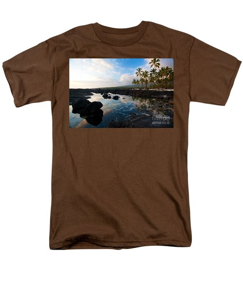 City Of Refuge Beach Men's T-Shirt  (Regular Fit) by Mike Reid