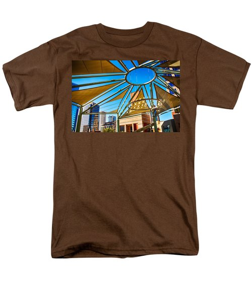 City Shapes Men's T-Shirt  (Regular Fit) by Fred Larson