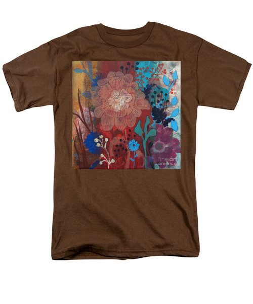 Men's T-Shirt  (Regular Fit) featuring the painting Clarity by Robin Maria Pedrero