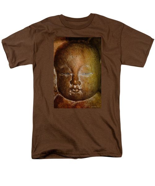 Men's T-Shirt  (Regular Fit) featuring the photograph Clayface by WB Johnston