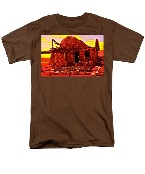 Cliff Dwellers In Red Men's T-Shirt  (Regular Fit)
