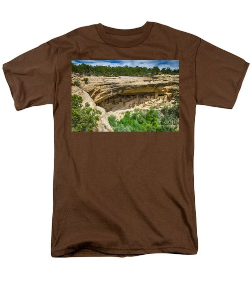 Men's T-Shirt  (Regular Fit) featuring the photograph Cliff Palace by Juergen Klust