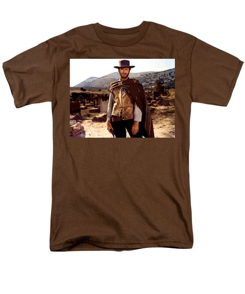 Clint Eastwood Outlaw Men's T-Shirt  (Regular Fit) by Gianfranco Weiss