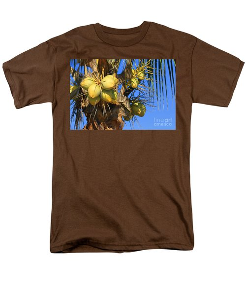 Coconut 2 Men's T-Shirt  (Regular Fit) by Teresa Zieba