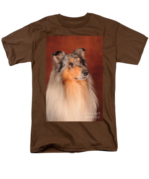 Men's T-Shirt  (Regular Fit) featuring the photograph Collie Portrait by Randi Grace Nilsberg