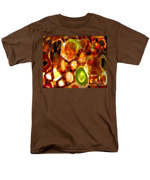 Colorful Abstract Men's T-Shirt  (Regular Fit) by Ausra Huntington nee Paulauskaite